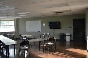 Training room and lecture room