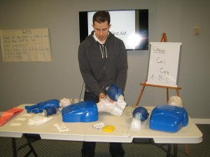 First Aid and CPR Certification in Halifax